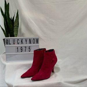 Sam & Libby Fuchsia Bootie Size 7